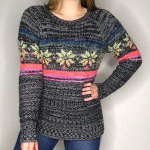 NEW American Eagle Snowflake Nordic Sweater